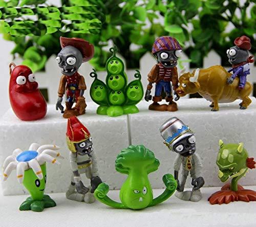 Plants VS Zombies - Set 40 Figuras 3-7cm / 40 Figures Set