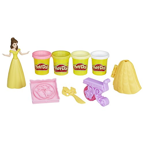 Play-Doh B9406EU40 Be Our Guest Banquet Featuring Disney Princess Belle Clay