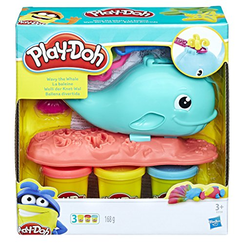Play-Doh - Ballena De Sorpresas (Hasbro E0100EU4)