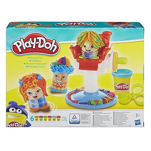 Play Doh - Kit de peluquería Peinados Locos (Hasbro B1155EU4)