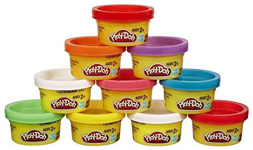 Play-Doh - Pack de 10 botes Party turm (Hasbro 22037E24)