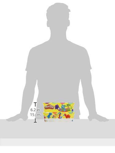 Play Doh Pack de 8 botes, multicolor (Hasbro C3899EU4) , color/modelo surtido