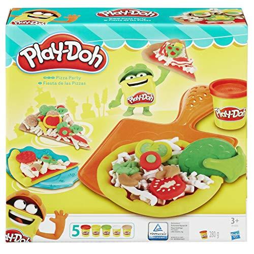 Play-Doh Pizzería, Multicolor, 23 x 22 cm (Hasbro B1856EU6)