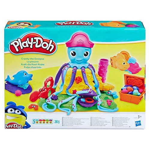 Play-Doh - Pulpo Divertidos Tentaculos (Hasbro E0800EU4)
