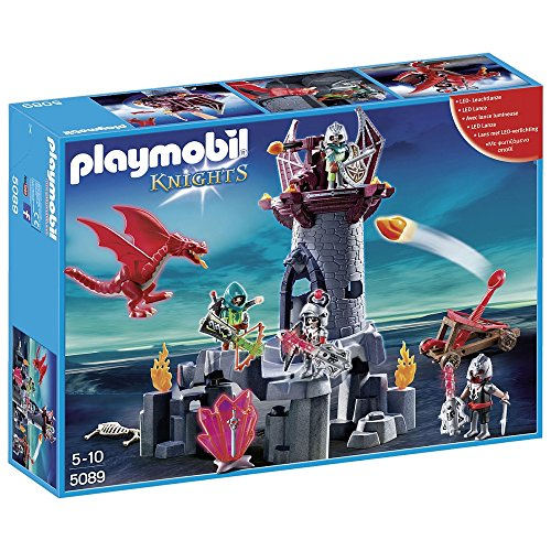 PLAYMOBIL - Batalla en la Torre del Dragón - 5089