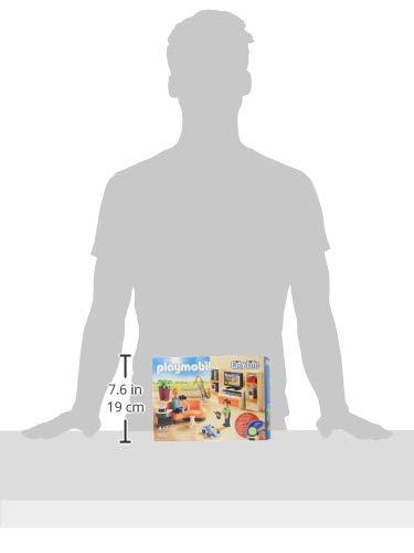 PLAYMOBIL City Life Salón, con Efectos de Luz, a Partir de 4 Años (9267)