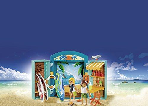 PLAYMOBIL- Cofre Tienda Surf, única (5641)