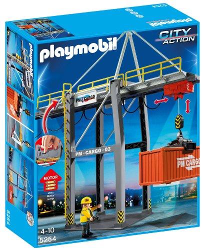PLAYMOBIL - Terminal de Carga, Set de Juego (5254)