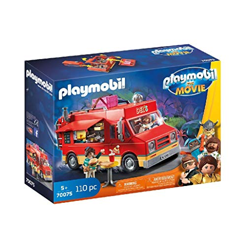 PLAYMOBIL: THE MOVIE Food Truck Del, a Partir de 5 Años (70075) , color/modelo surtido