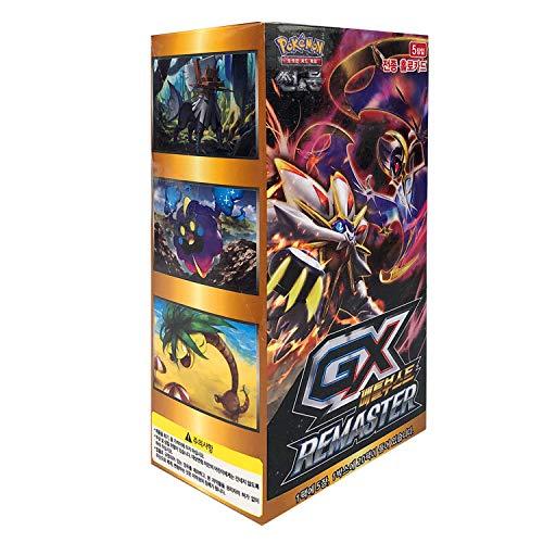 Pokemon Cartas Sun & Moon High Class Hologram Cards Pack Caja 30 Packs + 3pcs Premium Card Sleeve Corea Ver TCG GX Battleboost Remaster