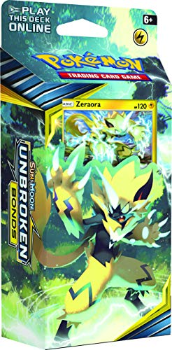 Pokémon POK81554 TCG: Sun and Moon 10 Unbreaked Bonds Temática Deck (uno al azar), multicolor , color/modelo surtido