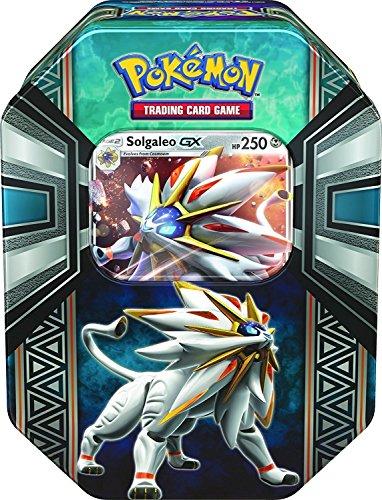 """Pokémon Spring Tin 2017 """"Leyendas de Alola GX Tin (Solgaleo GX)"""