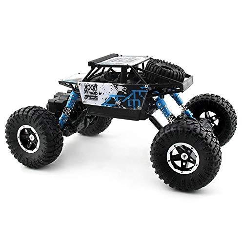 Poooc 2.4Ghz RC Camino alejado Camiones de control, 4x4 rastreadores de juguete una y dieciséis alta velocidad aleación Desierto campo a través del vehículo de larga distancia radio control de carrera