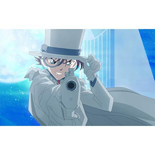 Potato smile Rompecabezas Detective Conan Anime Under The Moonlight Kid 300/500/1000/1500 Piezas (Personalizable)(Size:300 Piezas)