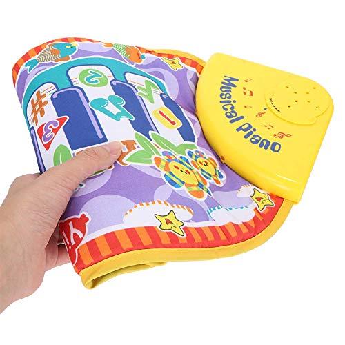 PYXZQW Kids Musical Mat Educational Piano Keyboard Play Mat Baby Instrumento portátil de Juguete, para niñas pequeñas niños
