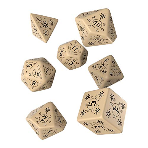 Q Workshop Pathfinder Rise of Runelords RPG Ornamented Dice Set 7 Polyhedral Pieces
