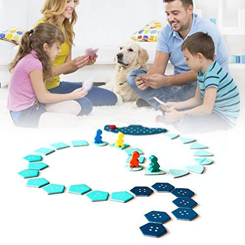 ranninao Tarot Card, Full English, Deep Sea Adventure Board Game Card, Party Game, Adventure Board Game Card Game Set Interaction Gadget