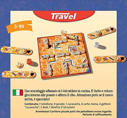 Ravensburger- Juego de Viaje La Cucaracha, Miscelanea (234141)