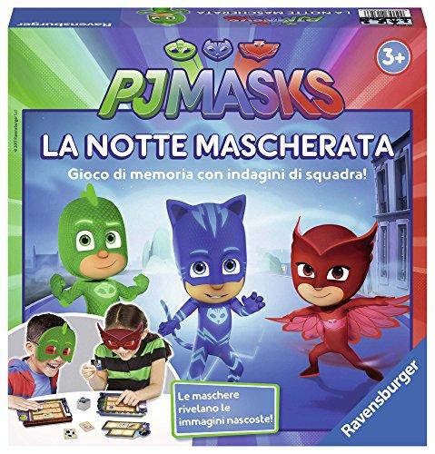 Ravensburger- Juego La Noche Enmascarada, PJ Masks (21355)