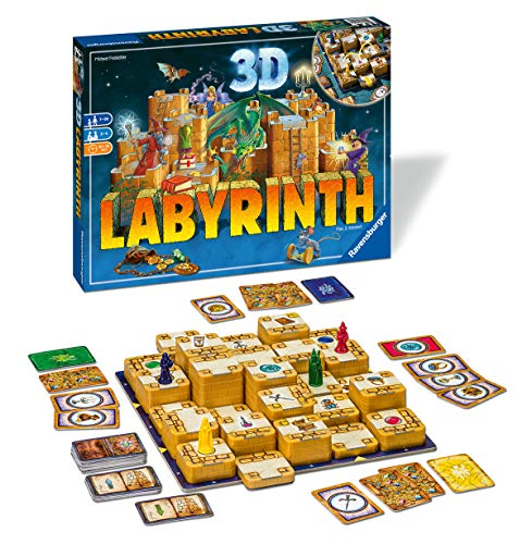 Ravensburger - Labyrinth family 3D (Ravensburger 26113) , color/modelo surtido