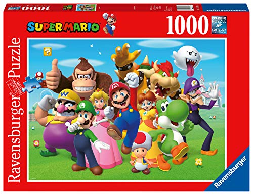 Ravensburger- Super Mario Puzzle 1000 Piezas Fantasy, Color 1. (14970)