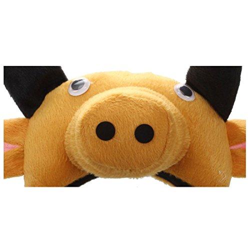 REFURBISHHOUSE Banda de Cabeza de Buey Vaca 3D Granja de Animales Mascara de Disfraz para ninos Adultos Baile de mascaras