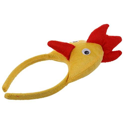 REFURBISHHOUSE Banda de cabeza de gallo pollo 3D Granja de animales Mascara para ninos adultos baile de mascaras de disfraz