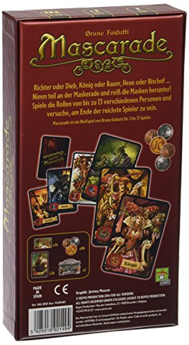 Repos Mascarade, Juego de Cartas  (Versión Alemana)