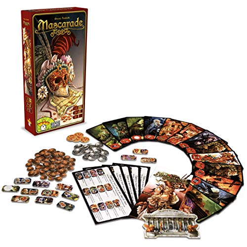 Repos Mascarade, juego de cartas  (Versión italiana) , color/modelo surtido