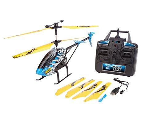 Revell Control 23868–RC helicóptero, Gran helicóptero teledirigido para Principiantes, 2,4GHz Control Remoto, fáciles de Moscas, Gyro,, anodizado, Estable de Metal Chassis–rexx