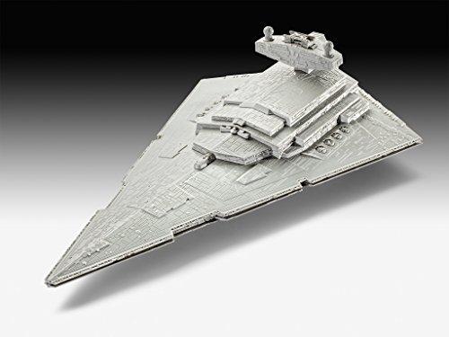 Revell Wars Build & Play Imperial Star Destroy, con Luces y Sonidos, Escala 1:4000 (6756)(06756)