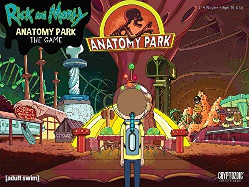 RICK & MORTY ANATOMY PARK