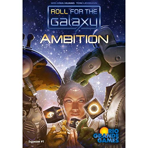 Rio Grande Games RGG520 RIO520 Ambition Roll for The Galaxy Expansion Dice Game