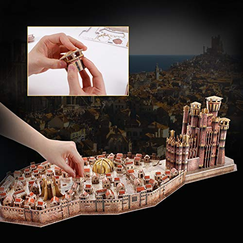 Rompecabezas 3D de Game of Thrones King Landing