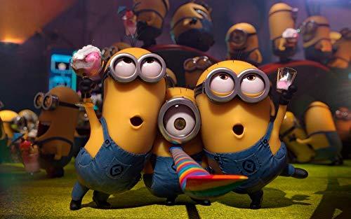 Rompecabezas madera adultos 1000 piezas puzzle Película anime amarillo ojos grandes hombre 05 Educar niños Juegos juguetes niños y niñas Juguete Regalo Ideal Decoración El Hogar Bricolaje