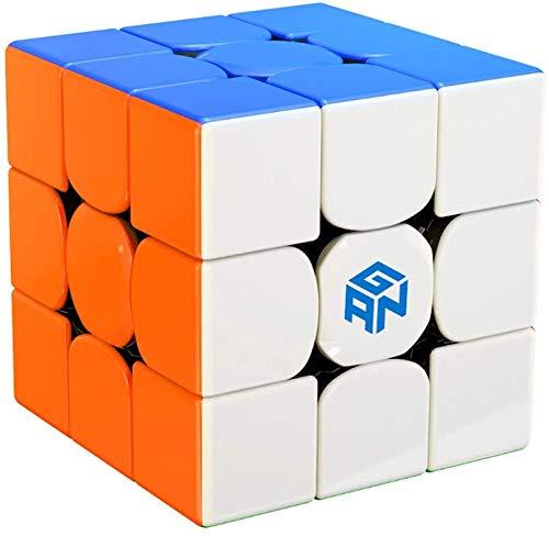 ROXENDA GAN 356 RS Speed Cube, 3x3 Stickerless GAN 356RS Speedcube, GAN Cube V3 System Cubo de Velocidad 3x3x3 for Beginners and Professionals, GAN 356 R Upgraded Version
