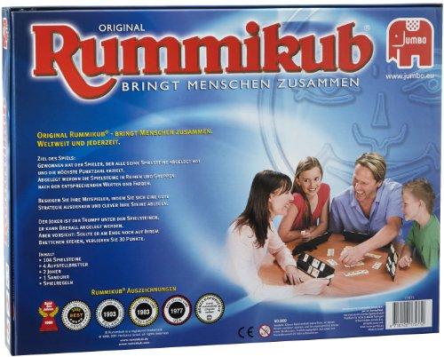 Rummikub Classic con Reloj de Arena (Jumbo 17571)