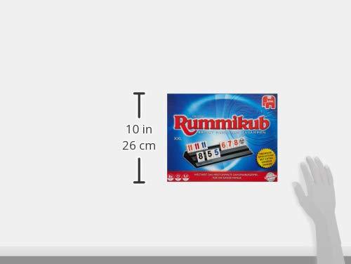 Rummikub Original XXL Niños y Adultos Juego de táctica - Juego de Tablero (Juego de táctica, Niños y Adultos, 20 min, Niño/niña, 7 año(s), Interior)