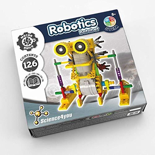 Science4you-Robotics Robotics Betabot-Juguete Científico y Educativo Stem, Multicolor, Regular para Niños +8 Años, (605152)