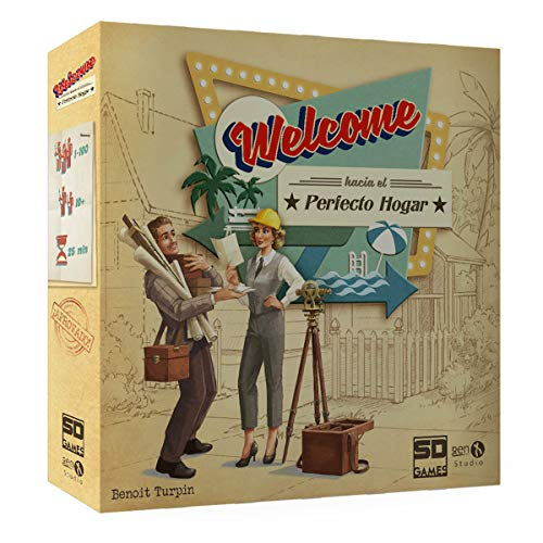 SD Games- Welcome hacia Hogar, Multicolor (SDGWELCTO01)