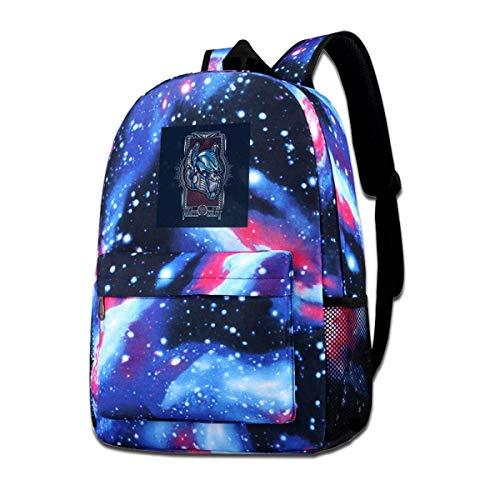 SFGHM Galaxy Impreso Hombros Bolsa TRAN-SFORMERS Roll out Fashion Casual Star Sky Mochila para niños y niñas