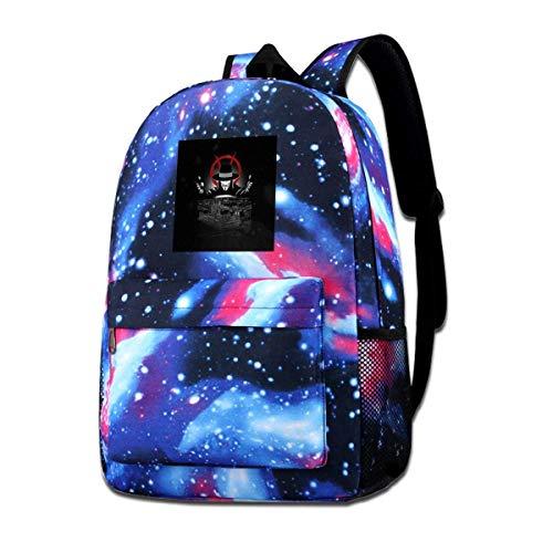 SFGHM Galaxy Impreso Shoulders Bag V para Vendetta Revolution Fashion Casual Star Sky Mochila para niños y niñas