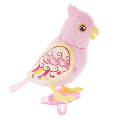 sharprepublic Pájaros Cantando Inducción Activada por Voz con Batería - Pájaro Cantor