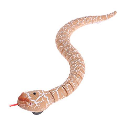 SimpleLife Control Remoto RC Serpiente Juguete, Novedad Rattlesnake Truco Animal Terroroso Juguete Travieso