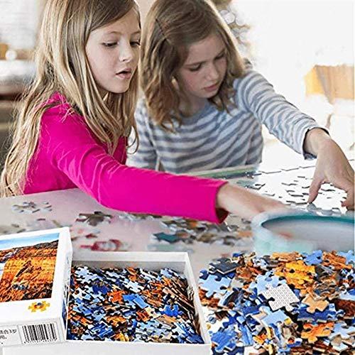 Slbtr - 1000 Piezas Puzzle - El Sol Brilla En El Valle - Rompecabezas para Niños Adultos Juego Creativo Rompecabezas Navidad Decoración del Hogar Regalo
