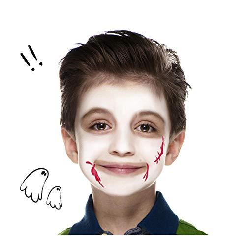 Snazaroo - Pintura Facial Clown, 50 ml, Color Blanco