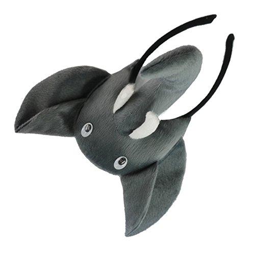 SODIAL(R) Banda de cabeza de elefante 3D Granja de animales Mascara de disfraz para ninos adultos baile de mascaras