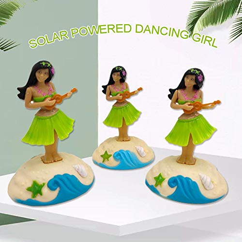 Solar Swinging Dancer Toy Swinging Animated Bobble Dancer Toy Solar Powered Dancing Girl Car Decor Kids Toys Gift