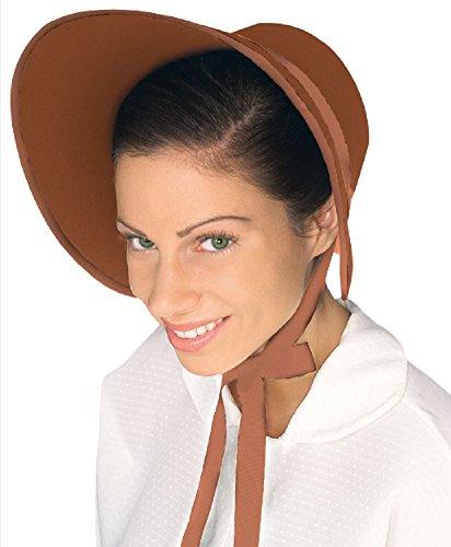 Sombrero Café Vestuario Colonial Amish Pionero