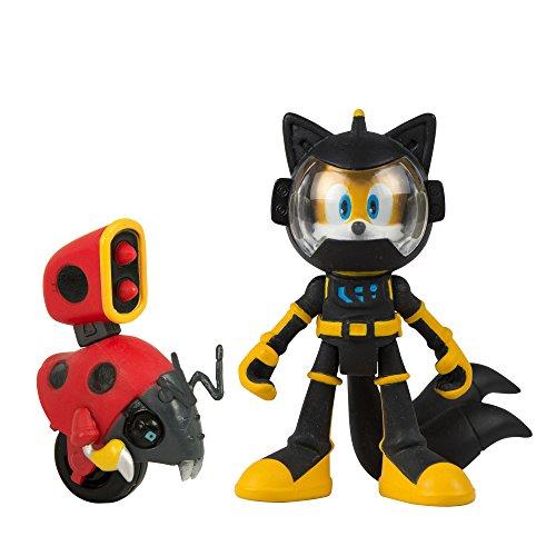 Sonic Boom - Figuras articuladas de Cola y Moto de 7,62 cm (2 Unidades)